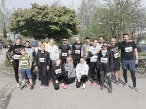 Team der Boxschule Dachau beim Dachauer Frühjahrslauf 2017