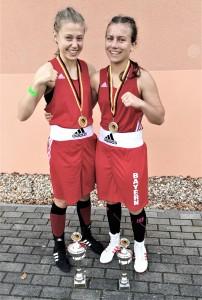 Jana und Marie auf der Deutschen Meisterschaft