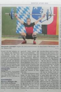 Wimsi: neue Bayerische Meisterin