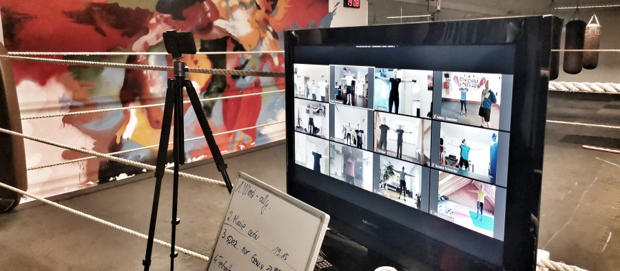 Online Live Training der Boxschule Dachau